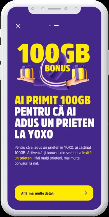 Hai cu prietenii la YOXO!